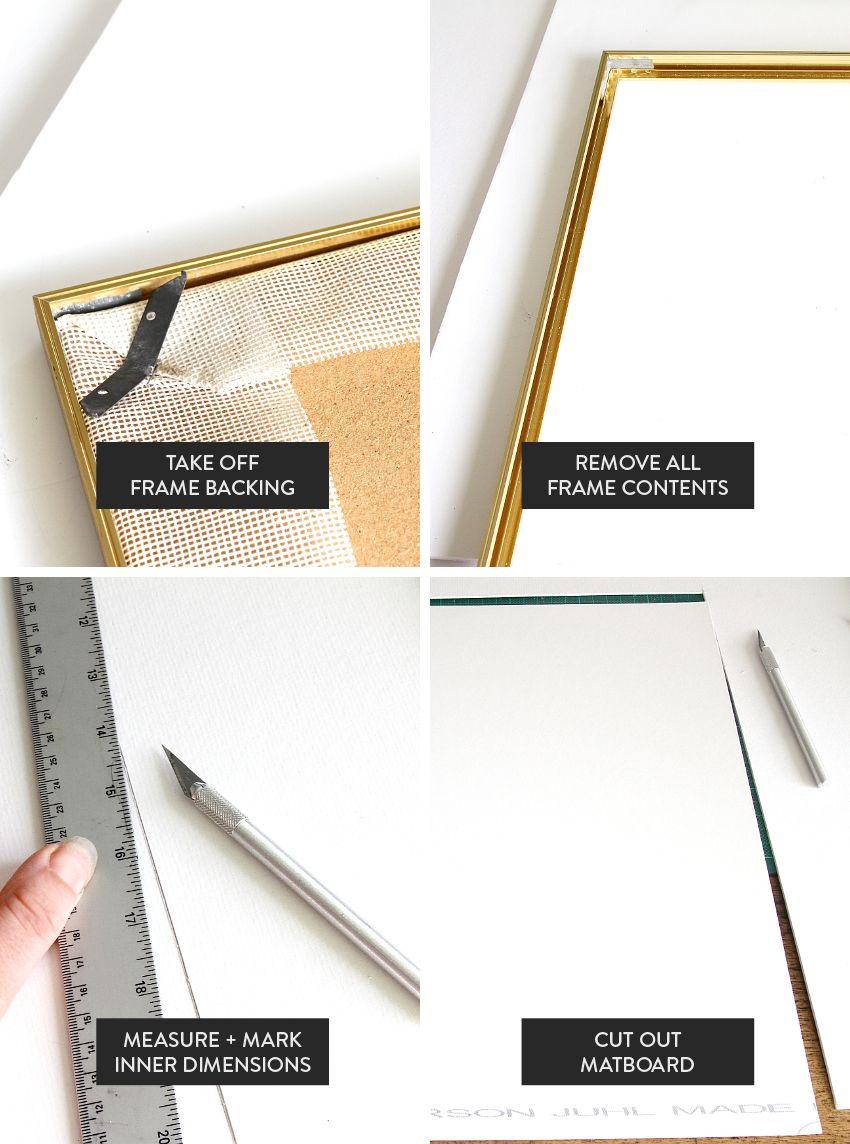 Custom Frame Those Prints Yourself - Framing