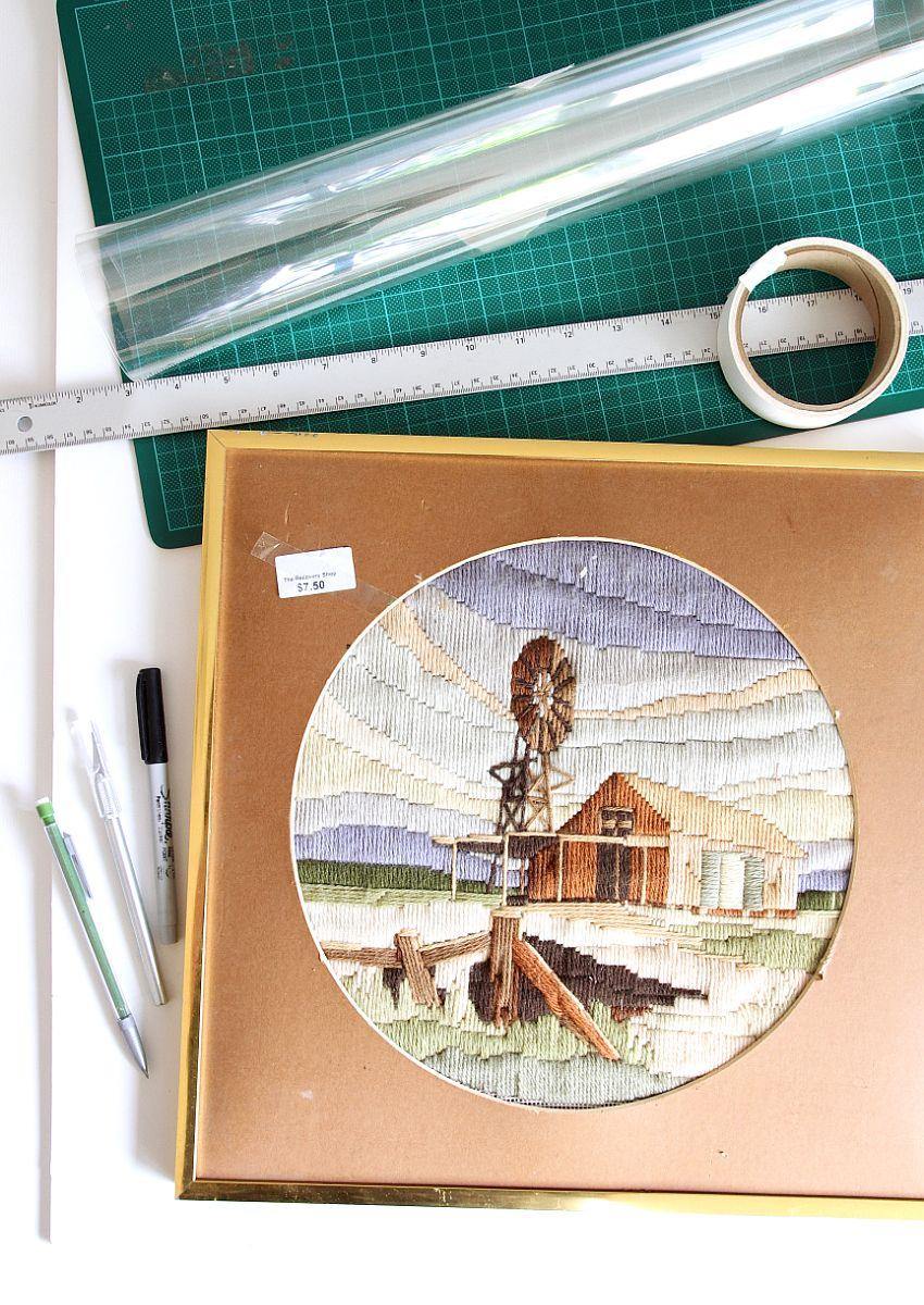 Custom Frame Those Prints Yourself - Materials