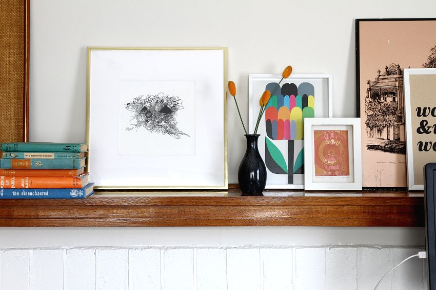 Custom Frame Those Prints Yourself Project