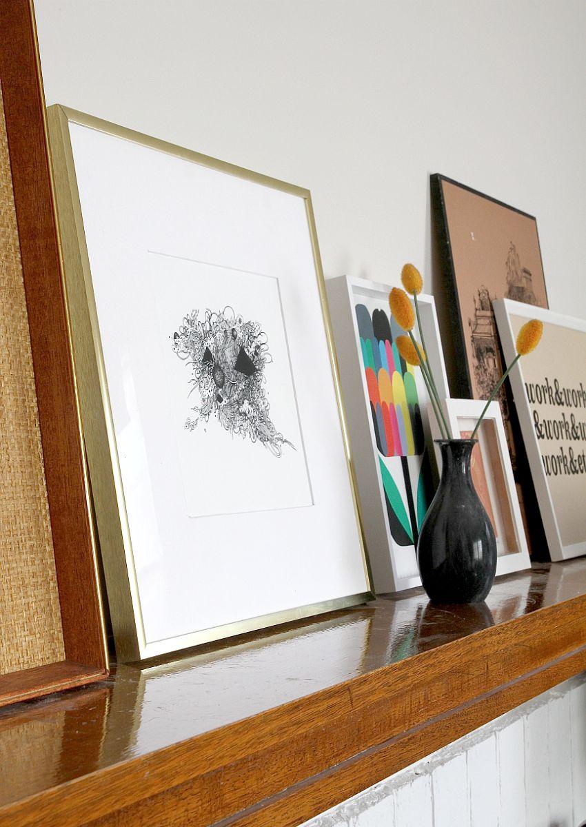 Custom Frame Those Prints Yourself - display