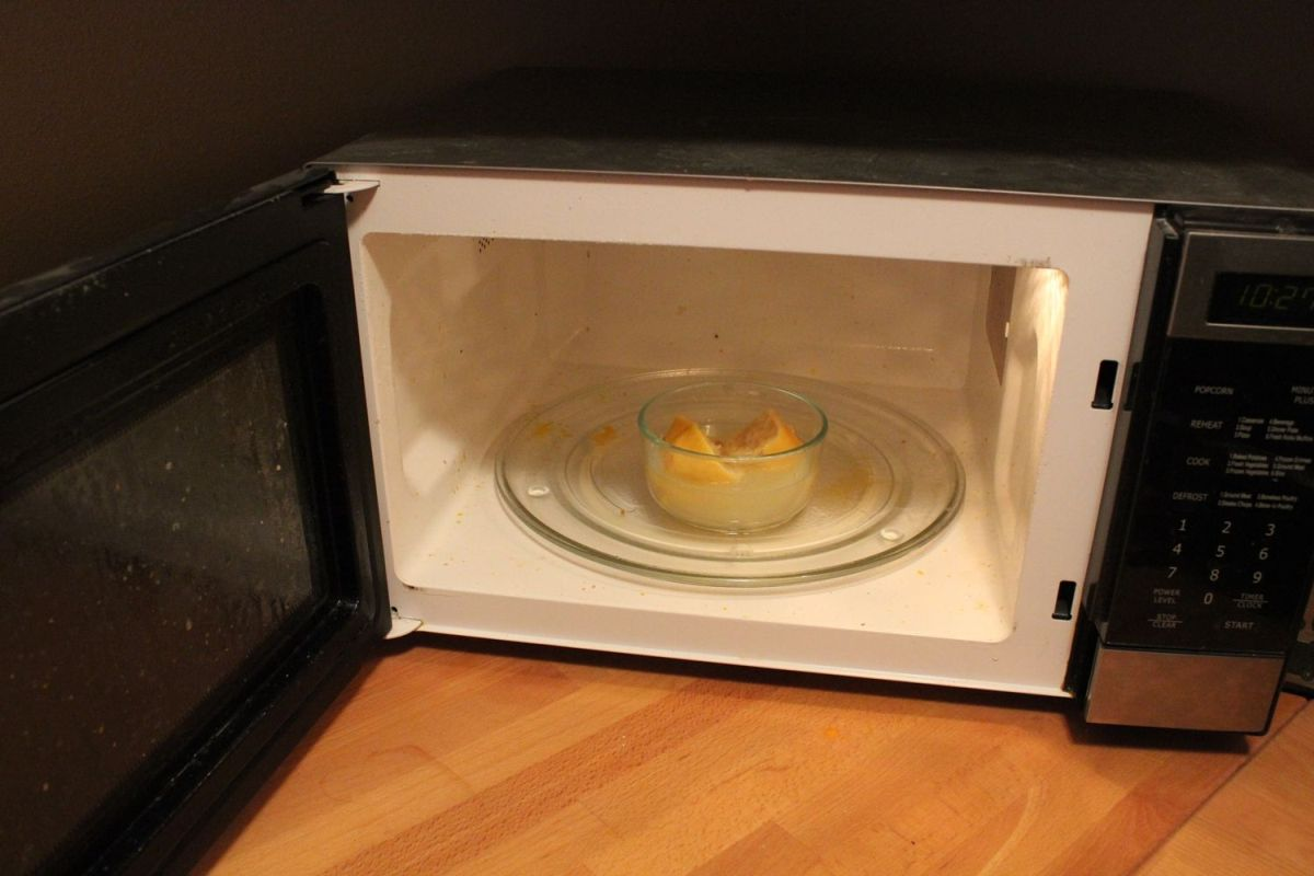 DIY Microwave Cleaner - smell