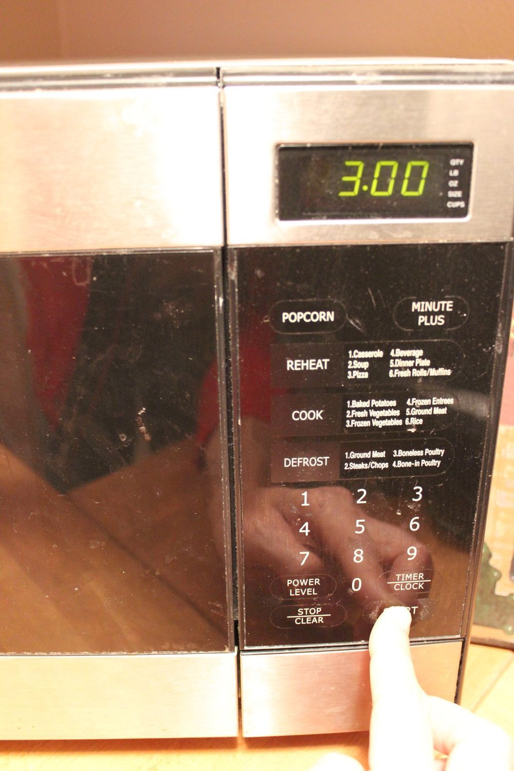 DIY Microwave Cleaner - three minutes high power