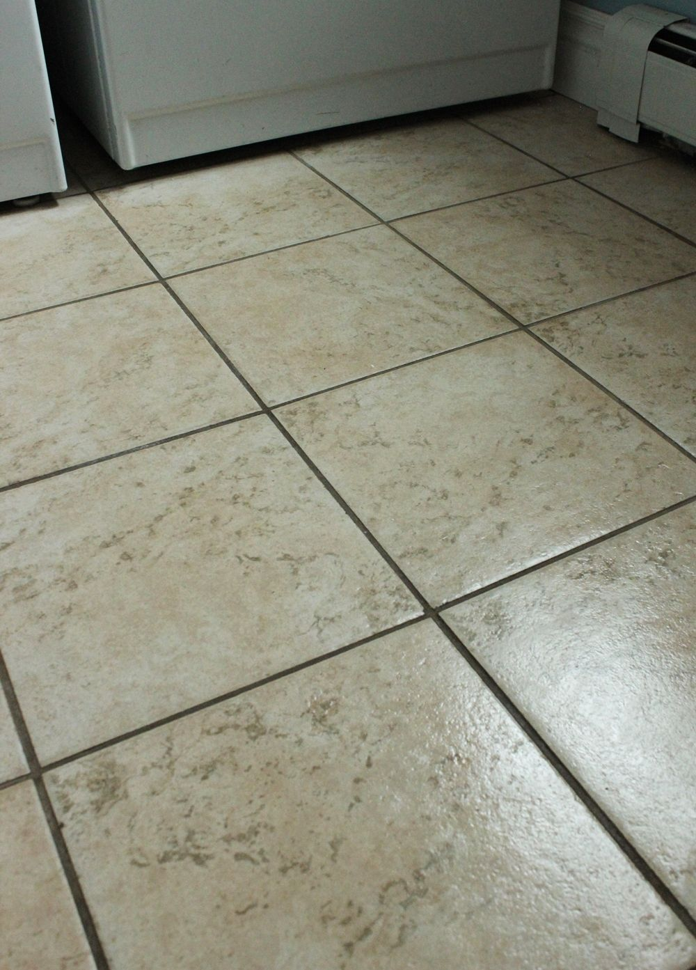 DIY Natural Grout Cleaner- freshen up your grout