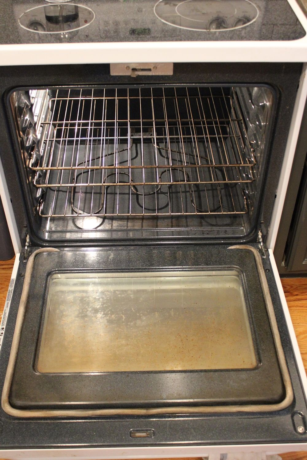 DIY Natural Oven Cleaner Step by Step tutorial
