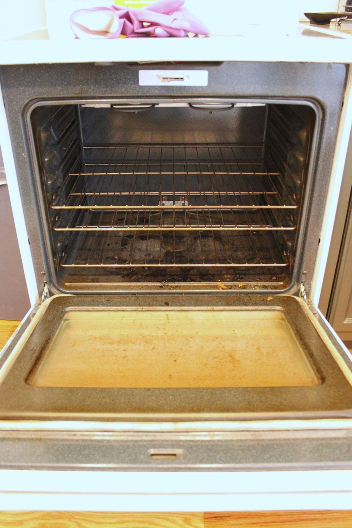 DIY Natural Oven Cleaner - Beginnen Sie mit Brutto