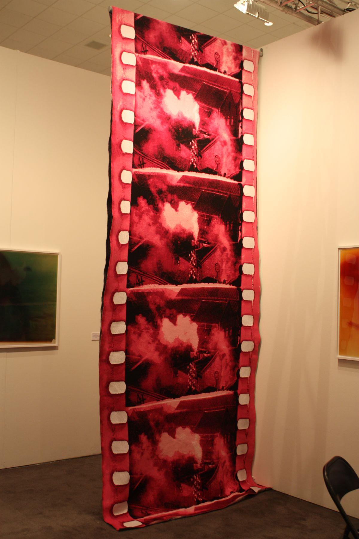 Dan Gun Filmstrip rug