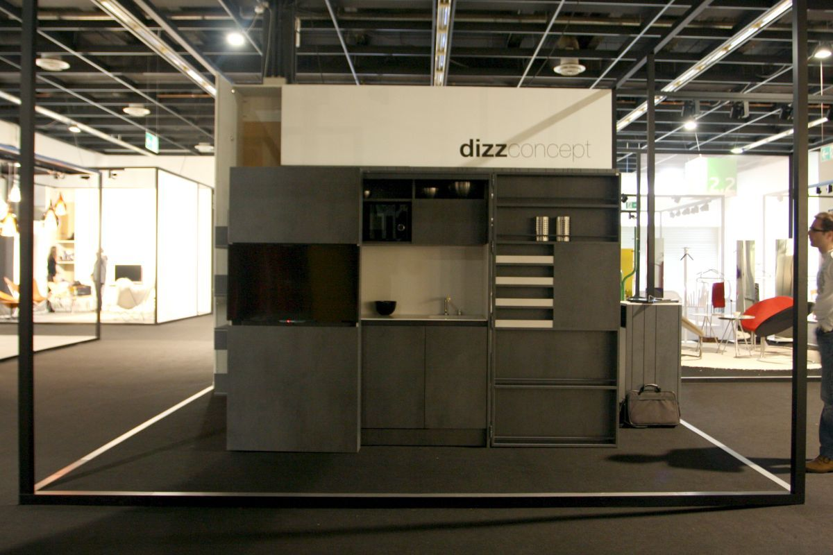 Dizzconcept Pia Compact Kitchen For Small Spaces