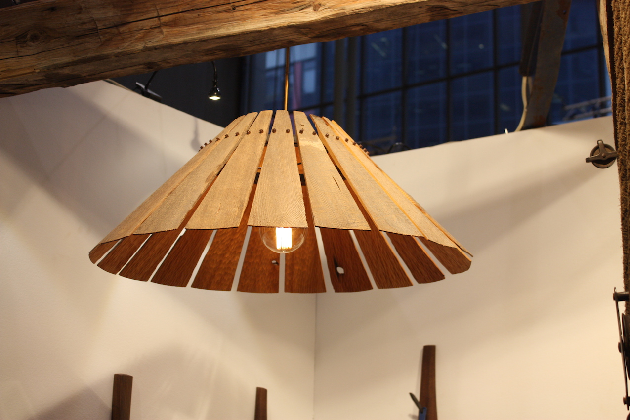 Drake Wood lampshade