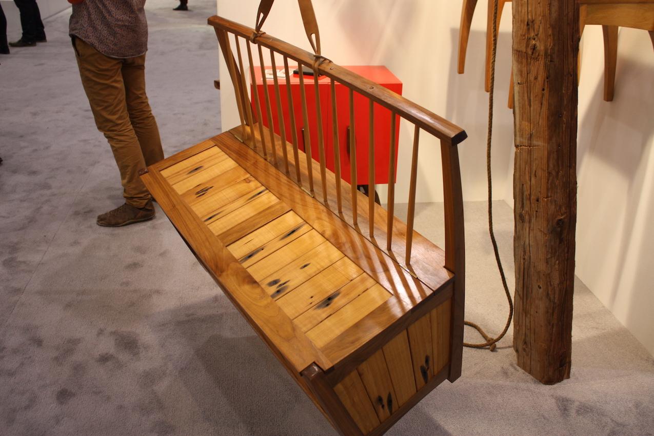 Drake wood bench