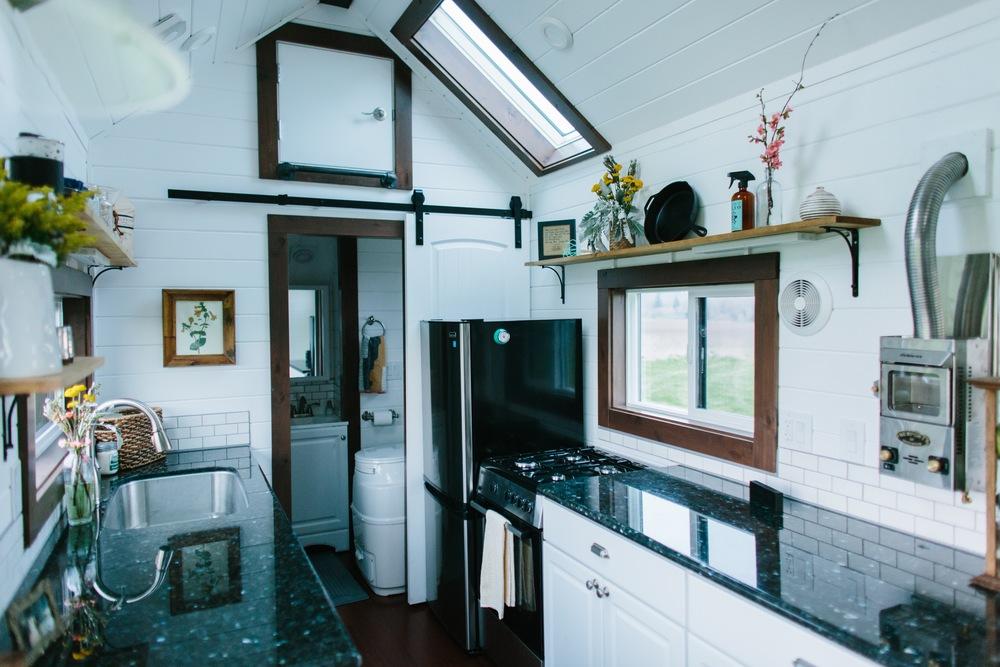Elegant barn door