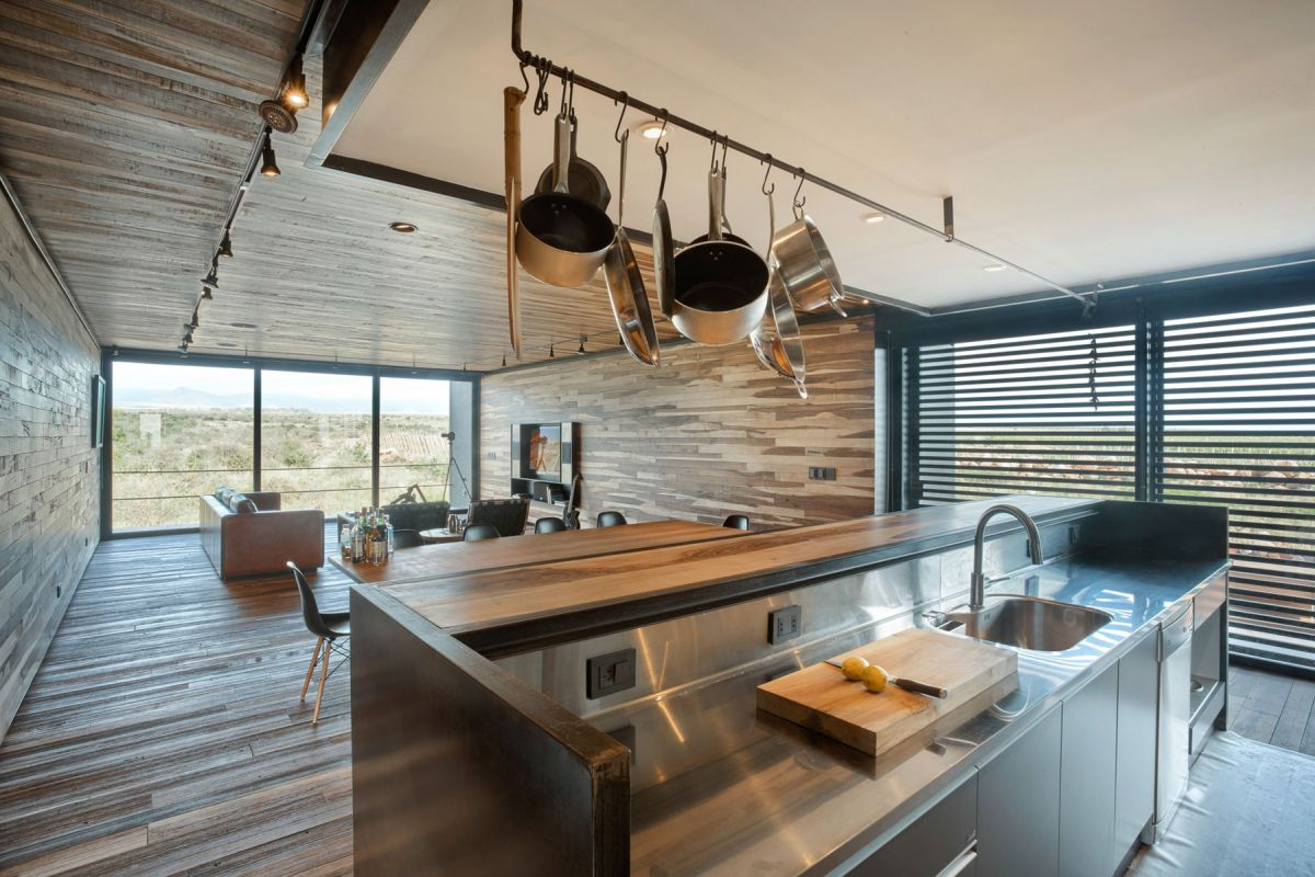 Evans House in Argentina interior kitchen design