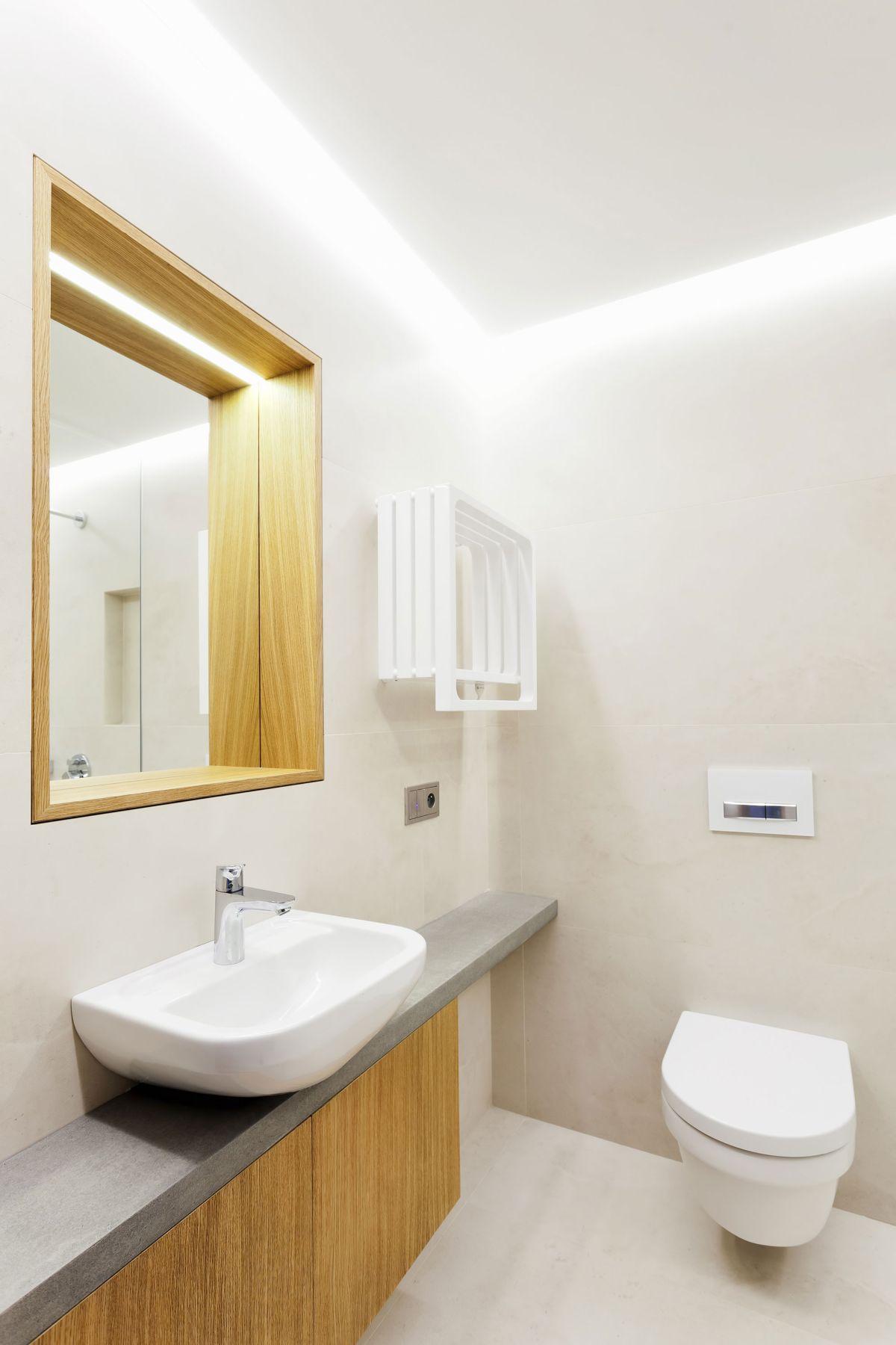 Family home in Slavonin bathroom vanity