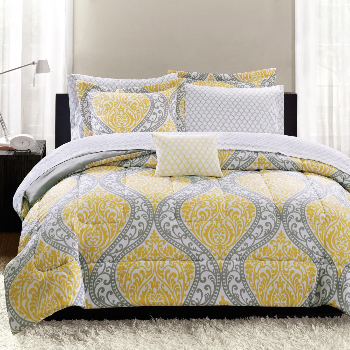for set and black your bed bedding awesome sets home white toile gray pin