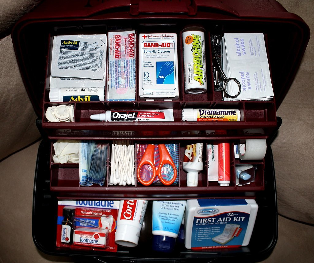First aid toolbox
