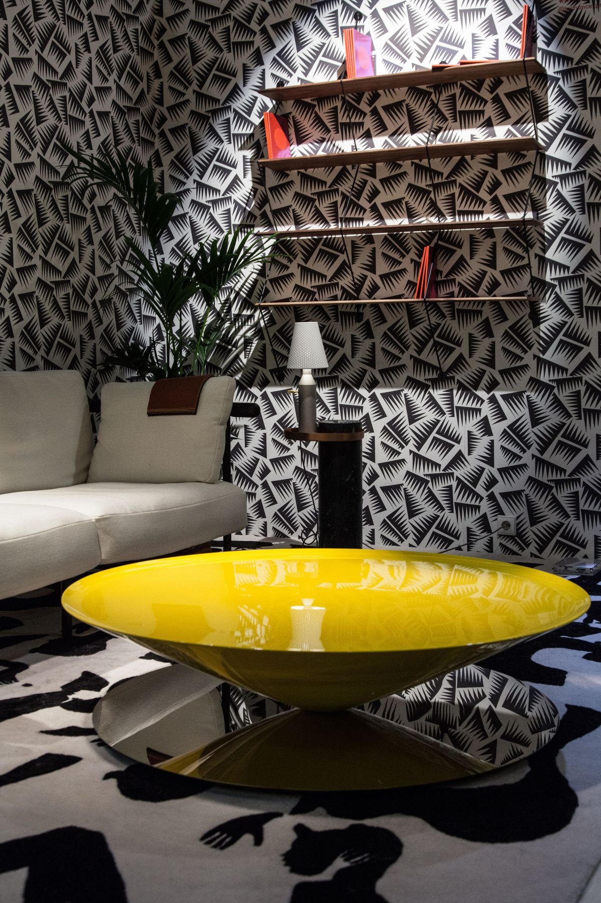 Creative versions of the usual living room coffee table float yellow luca nichetto coffee table geotapseo Image collections
