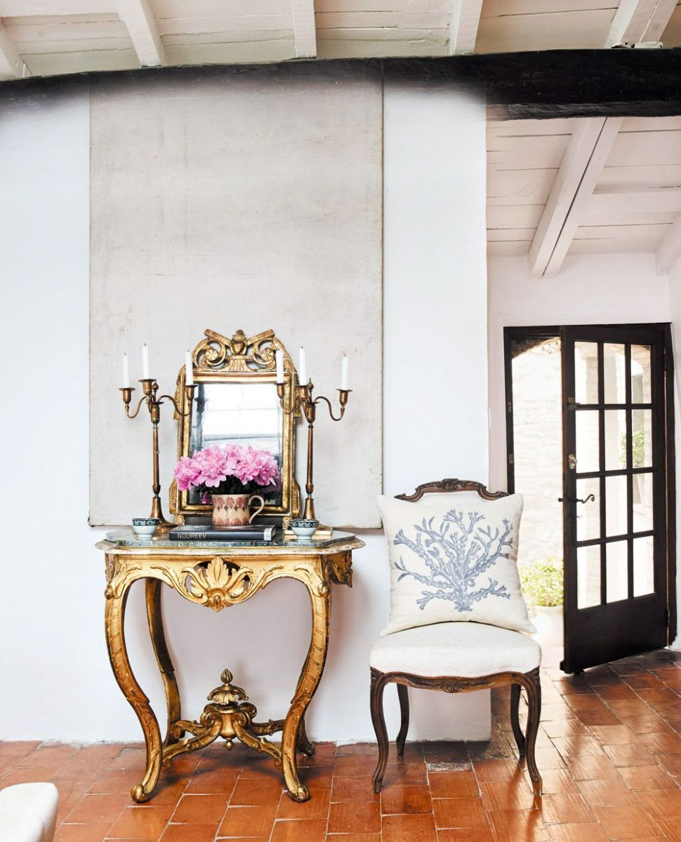 French Country With A Gilded Touch