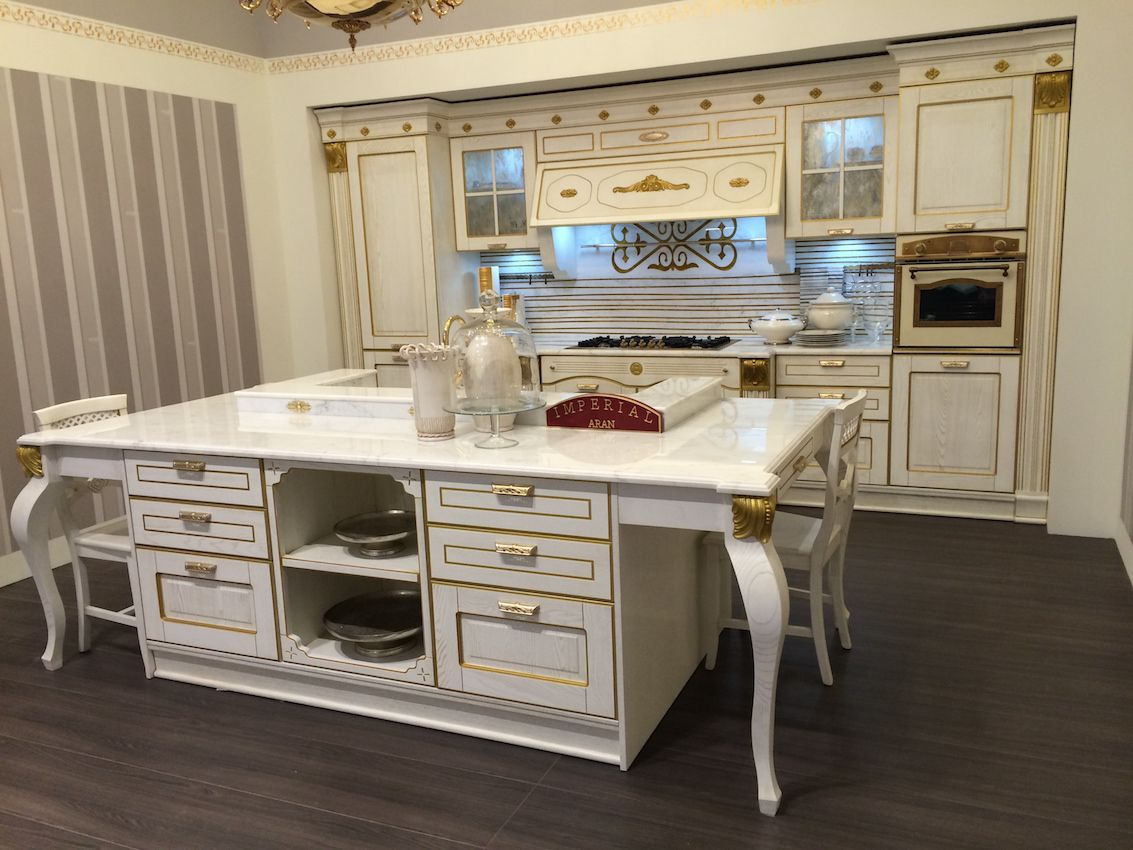 The interior designer will help design a space that reflects the way you live. This French provincial style still can include the latest appliance technologies.