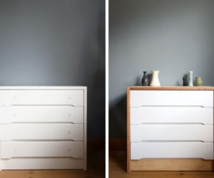 Before and After: A Fresh Scandinavian Dresser Makeover