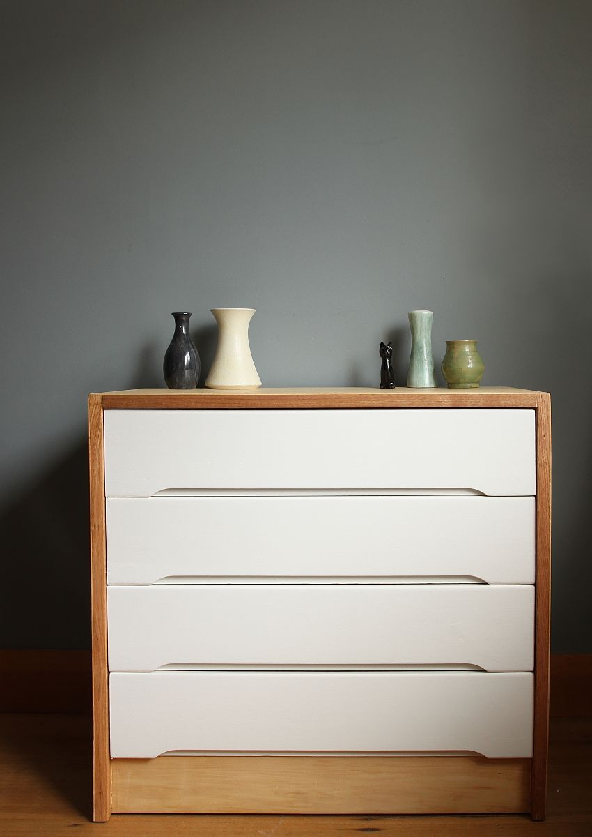 Fresh Scandinavian Makeover For Dresser 3