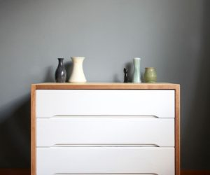 Before and After: A Fresh Scandinavian Dresser Makeover