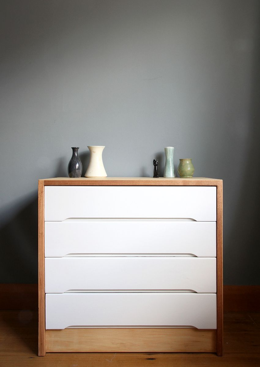 Fresh Scandinavian Makeover for Dresser project