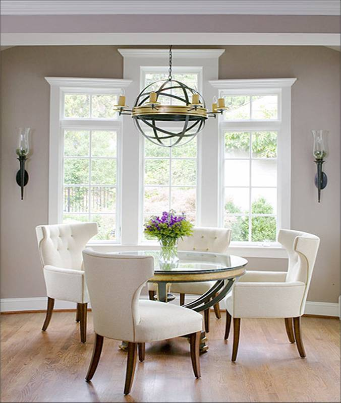 Glass Wood Dining Table Round 40 glass dining room tables to revamp with: from rectangle to square!