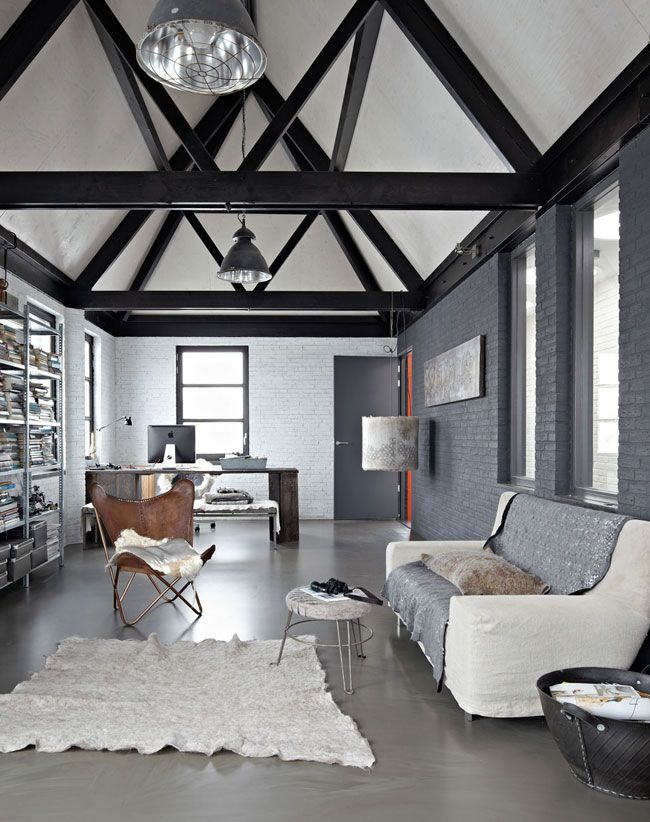 Gray is popular for living room