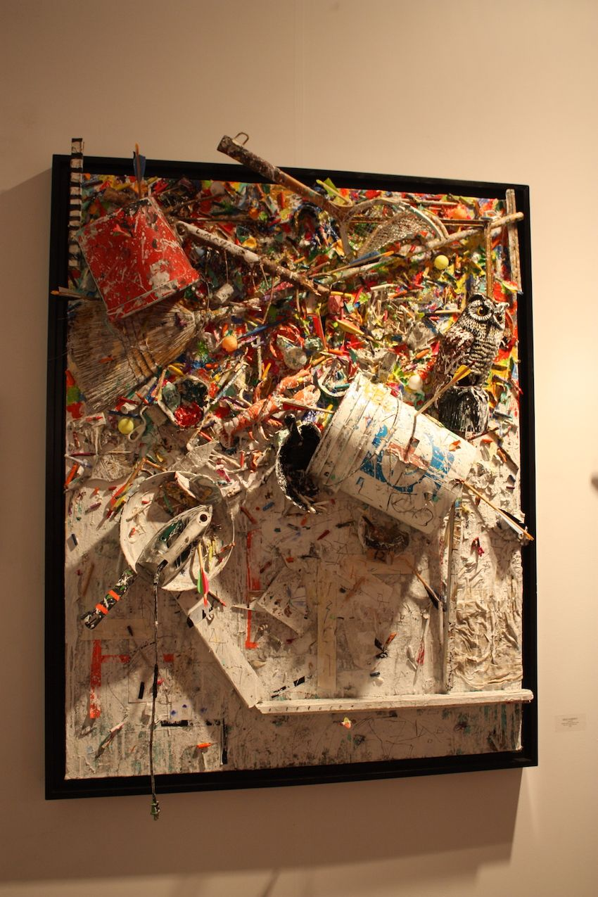 American artist Greg Haberny turns his tools into art with pieces like this one.