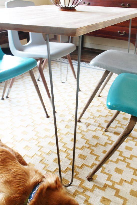 Ikea Modern Hairpin Legs