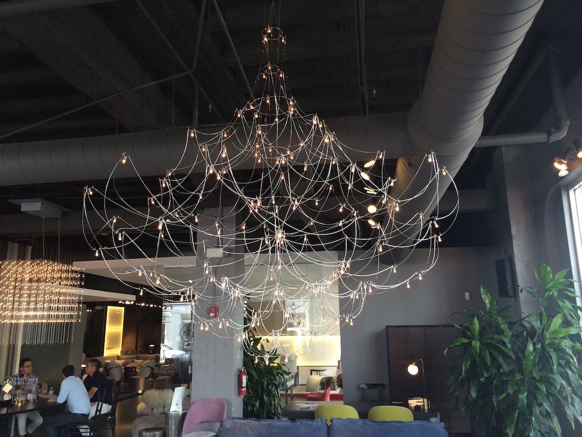 Interum chandelier opulent design