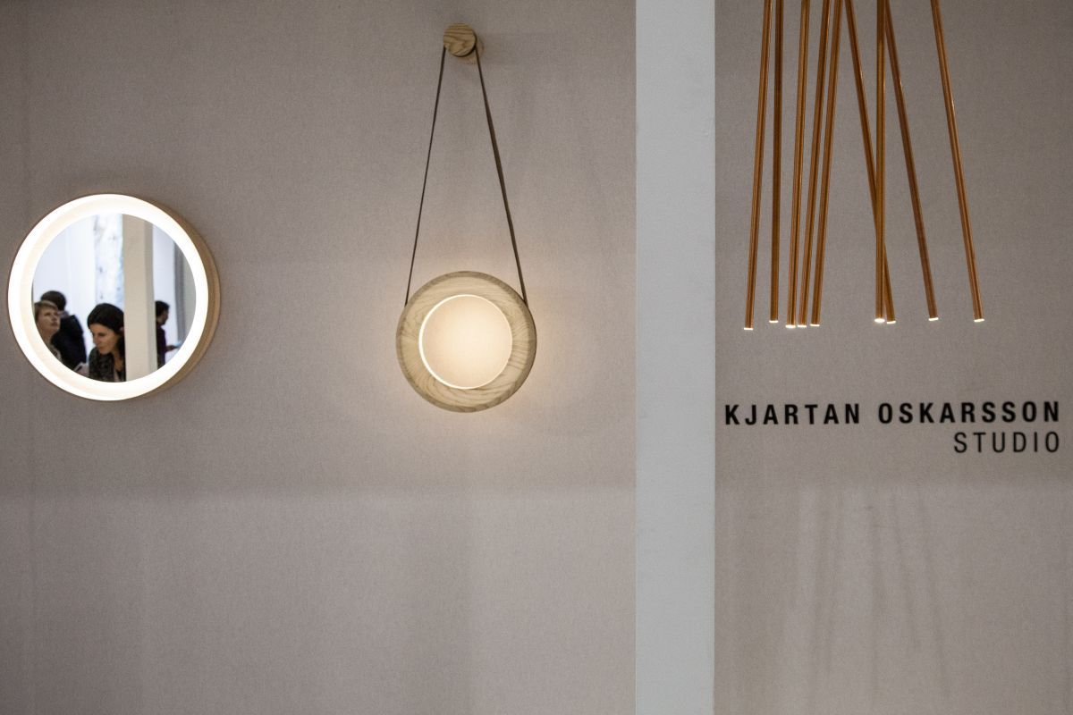 Kjartan Oskarsson Hanging Mirror