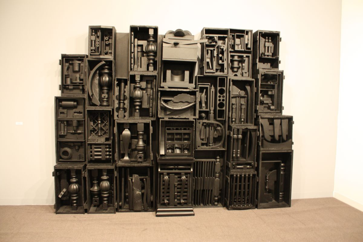 Louise Nevelson Wall
