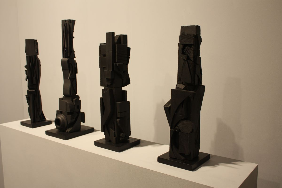Louise Nevelson columns