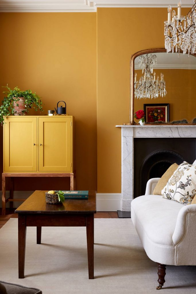 Mellow Yellows mood paint colors