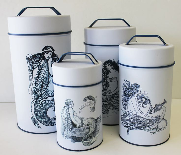 Mermaid Canisters