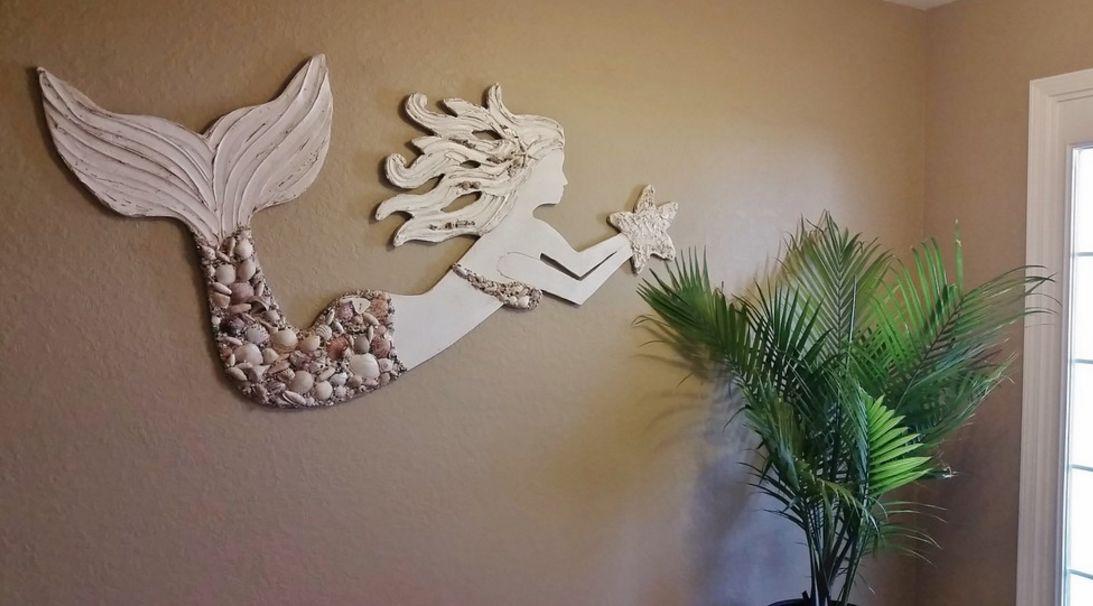 Mermaid and seashells