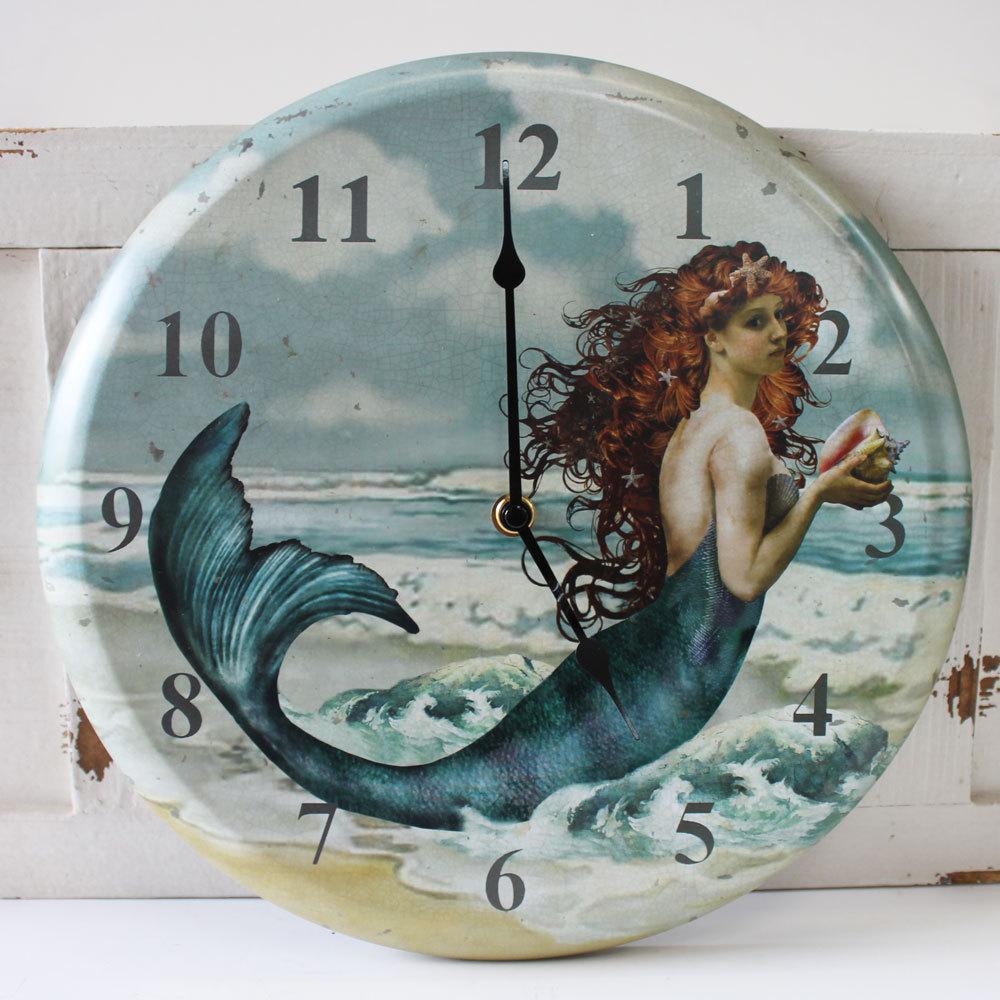 Mermaid clocks