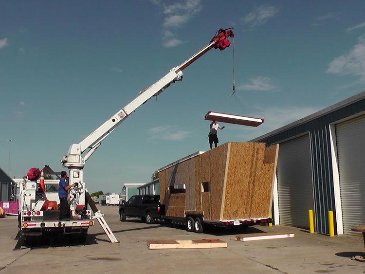 Mobil woody trailer