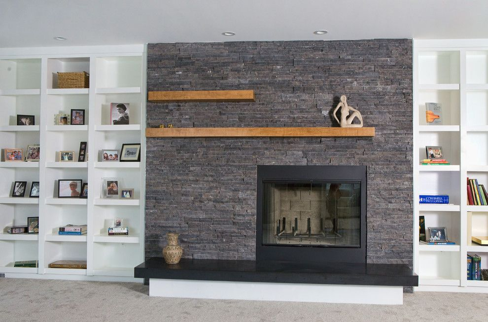 These 20 built in shelves will revitalize alot of space Modern shelves for living room