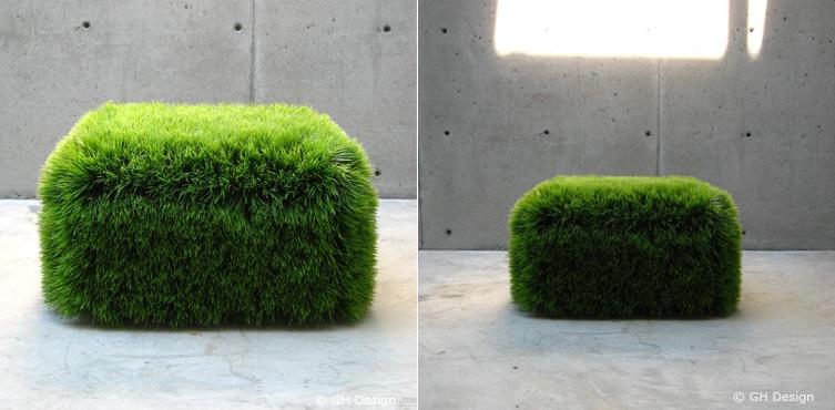 Moss ottoman design