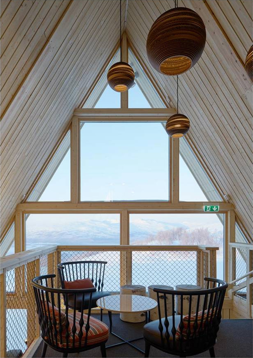 Mountain Restaurant Björk in Hemavan Design nook