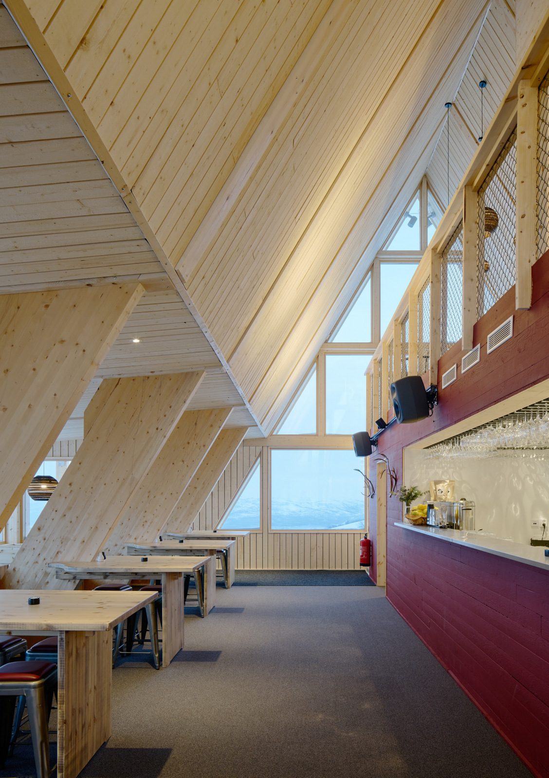 Topprestaurang Björk Hemavan, Murman Arkitekter