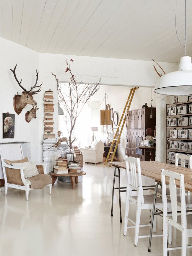 Nordic inspired dining room