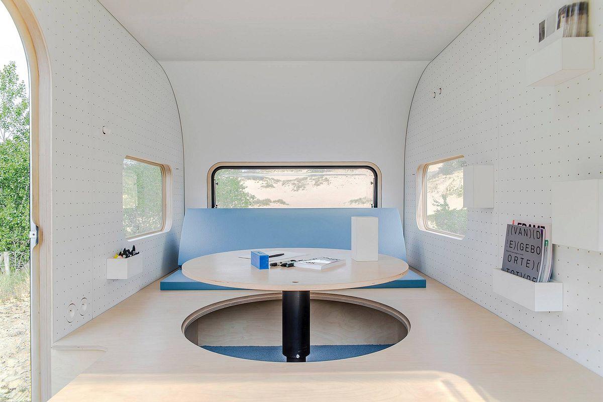 Office interior table ip