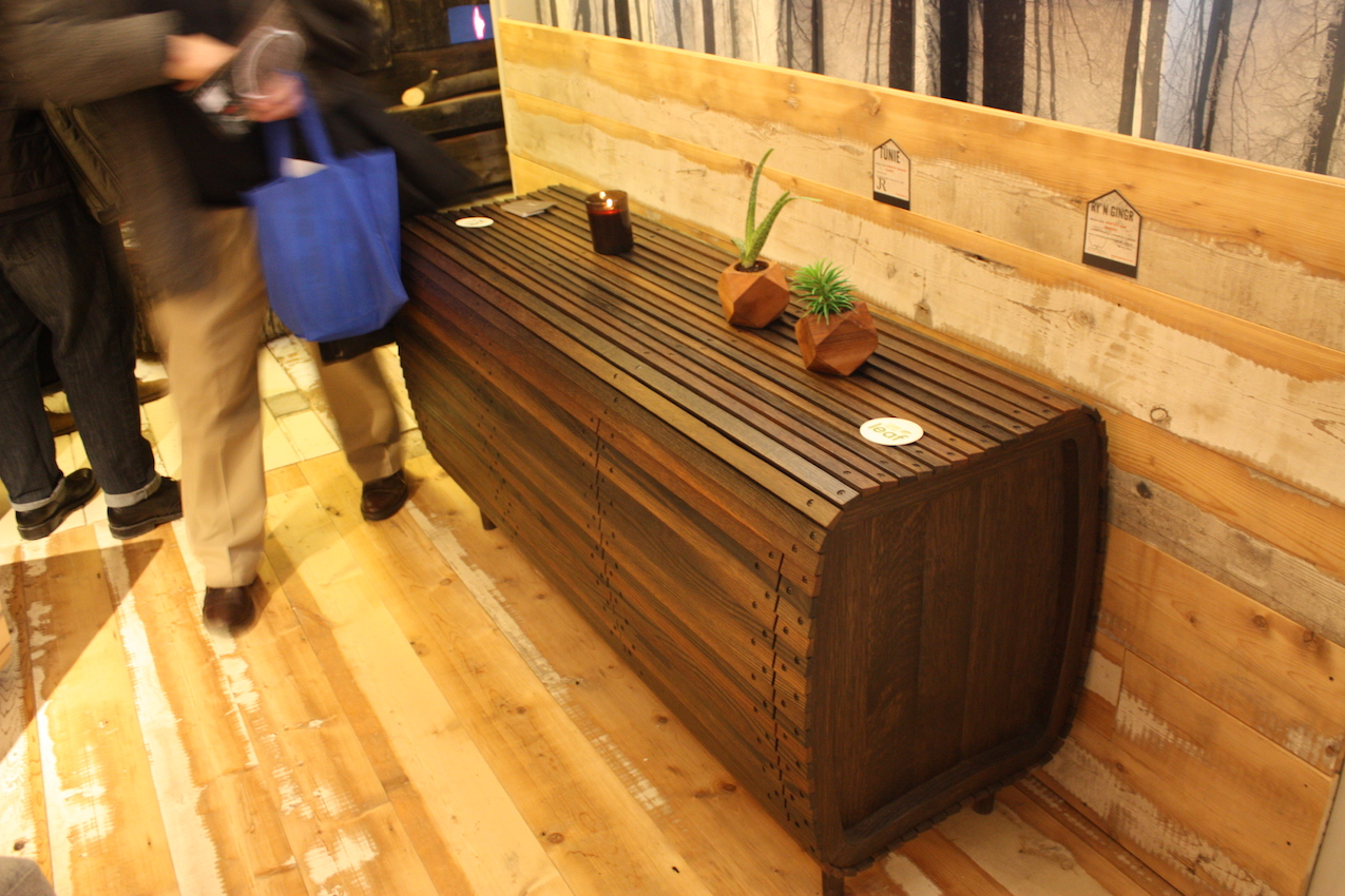 Ontario Wood console