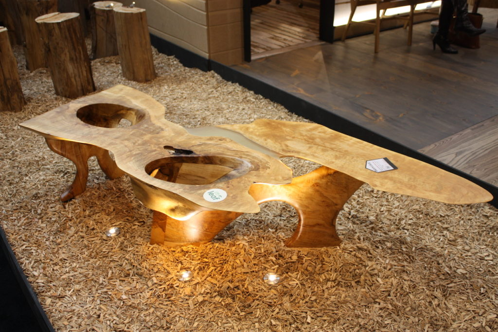 Ontario wood coffee table