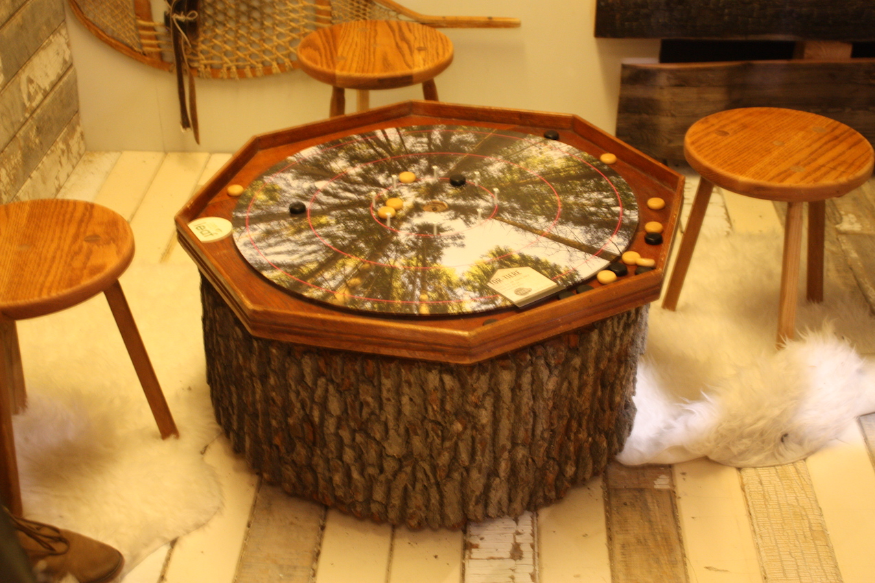 Ontario wood table