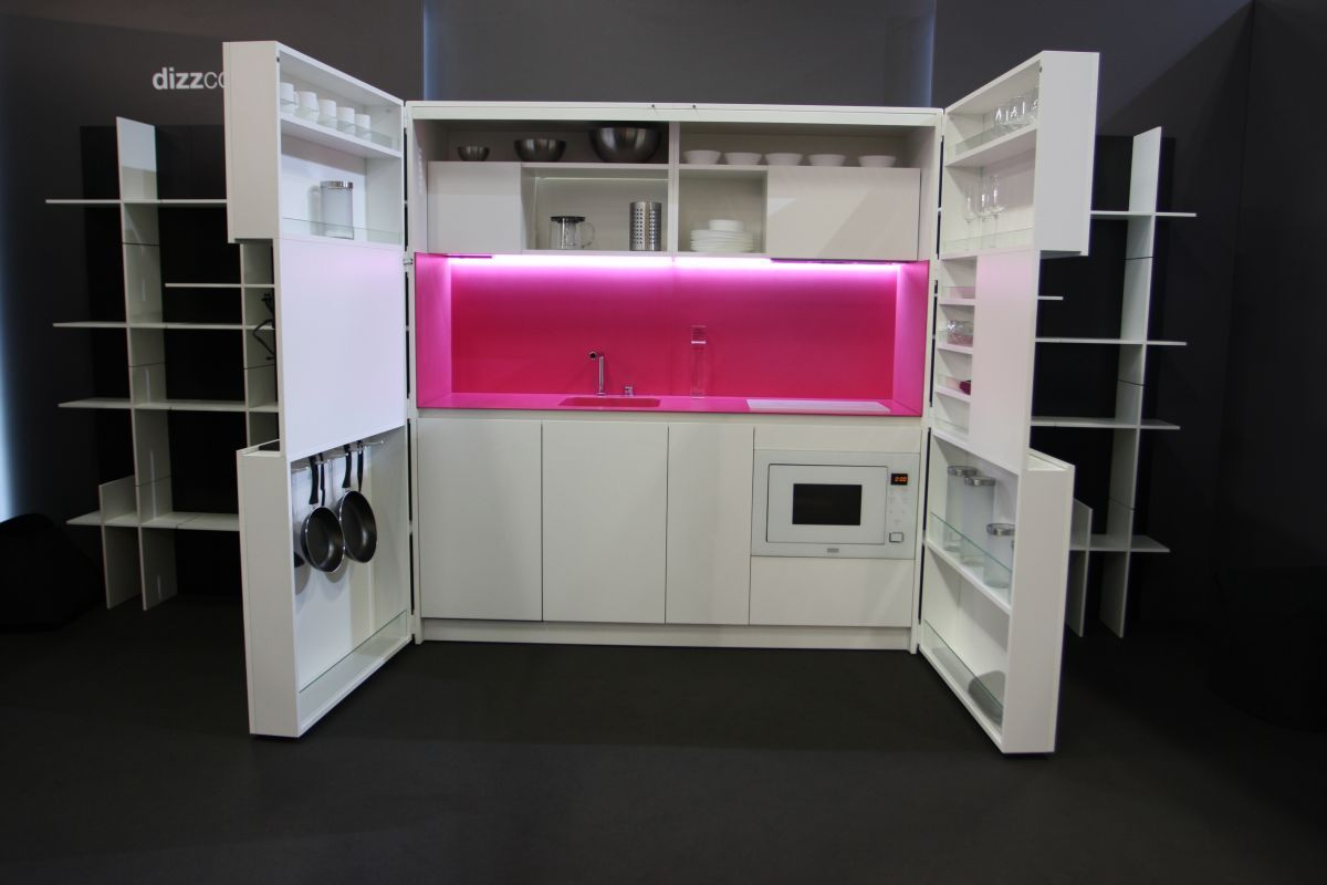 Pia the revolutionary kitchen that offers luxury in a Very small space kitchen design