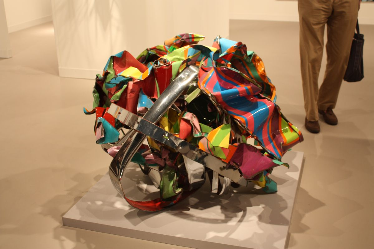 Peter Freeman Gallery sculpture
