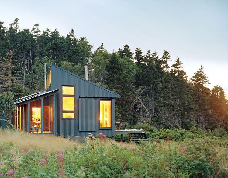 Porter cottage exterior side